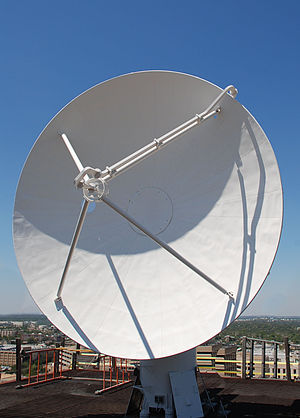 Aggie Doppler Radar - The current Aggie Doppler Radar dish