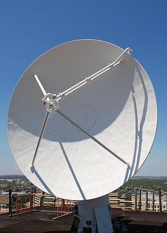 Aggie Doppler Radar - The current Aggie Doppler Radar dish