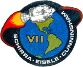 Missionsemblem Apollo 7