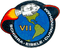 Apollo 7 logotipas