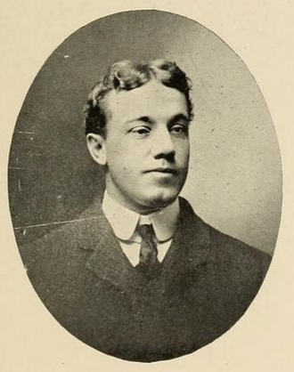 Anthony Chez - Chez pictured in The Monticola, West Virginia yearbook