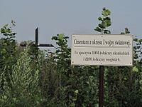 A 435 Cmentarz wojenny z I wojny światowej Kitów 2.JPG