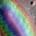 A Colorful Look at the Birt E Crater on the Moon (14677604185).png