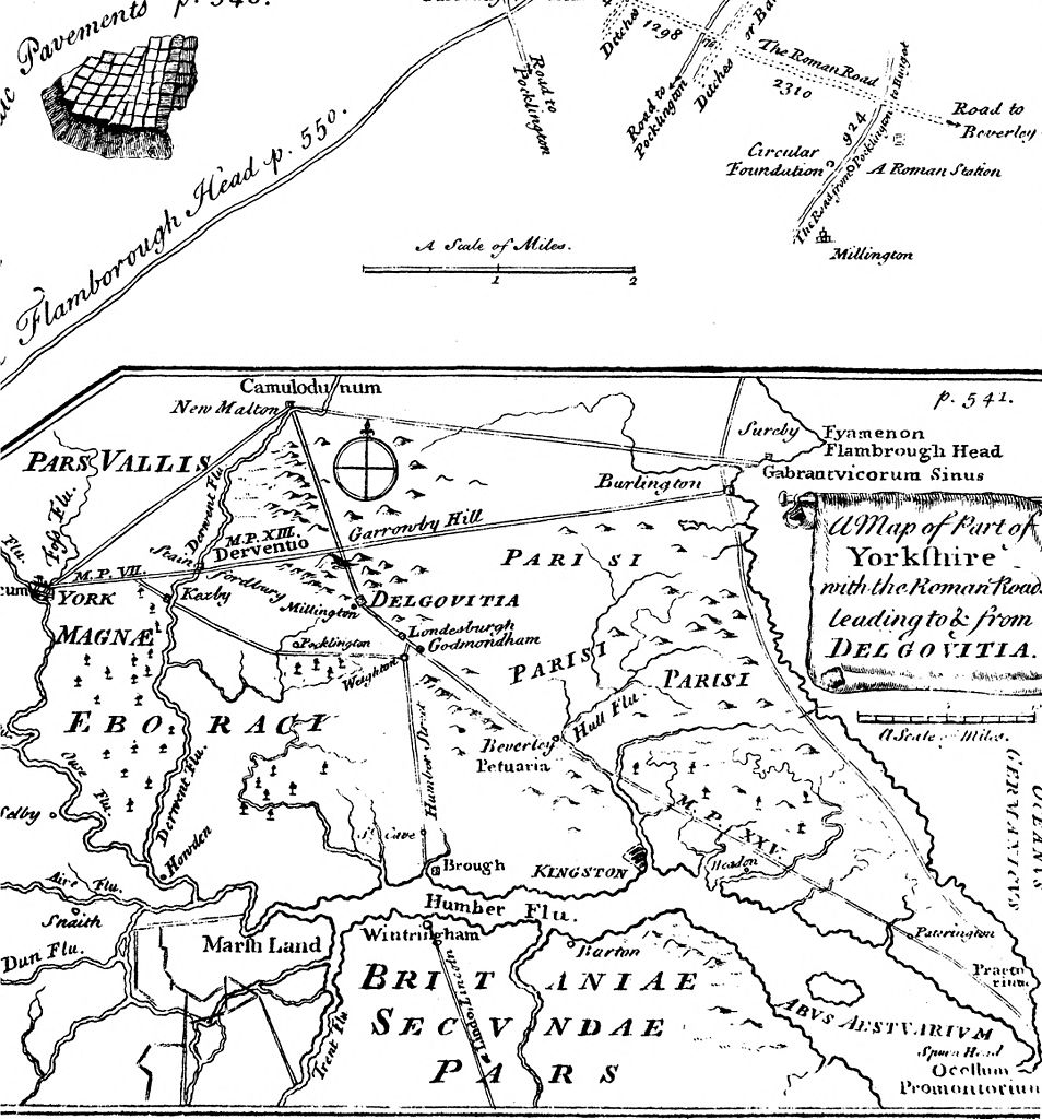 File:A Dissertation on the Situation of the Ancient Roman Station of Delgovitia in Yorkshire; by John Burton, of York, M. D. (1753) (14783751955).jpg