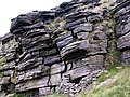 A Rock Formation high above Yellow Slacks brook - geograph.org.uk - 476007.jpg