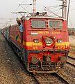 A WAP1 from Arakkonam hauls Trivandrum bound Guwahati Express.jpg