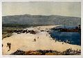 A beach in the Dardanelles with soldiers unloading medical s Wellcome V0015691.jpg