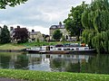 A boat moored on the river Cam - geograph.org.uk - 875525.jpg