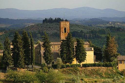 Certaldo, Pieve di San Lazzaro
