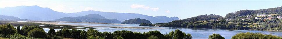 A ría de Ortigueira, Galicia (Spain)