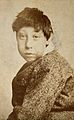 A young dark-haired boy, showing signs of mental deficiency, Wellcome V0030007ER.jpg