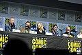 Aaron Paul, Bryan Cranston, Anna Gunn, RJ Mitte & Dean Norris (42699855465).jpg