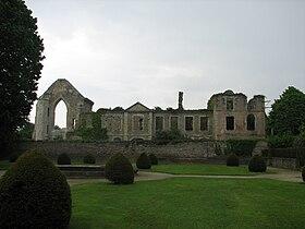 Façade de l'abbaye Notre-Dame du Vœu