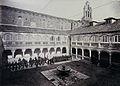 Academia de Artillería, Patio de Orden del Convento de San Francisco en 1878.jpg