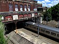 Acela Express under Pawtucket-Central Falls station, August 2015.JPG
