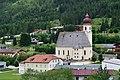 Achenkirch - Pfarrkirche hl Johannes der Täufer mit Friedhof und altem Widum - II.jpg