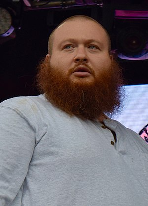 Action Bronson - Bronson performing in June 2016