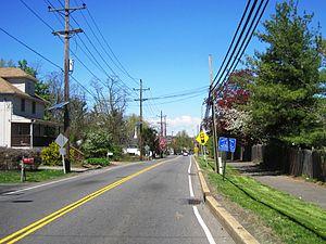 Adams, New Jersey - Photo of Adams along Cozzens Lane