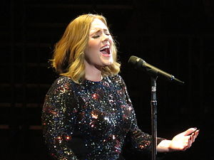 When We Were Young (Adele song) - Adele performing the song at the Genting Arena, March 2016