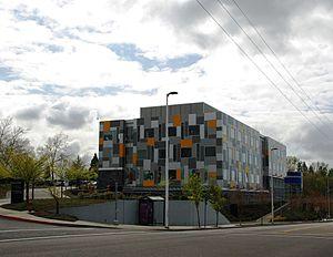 Bess Kaiser Hospital - Former Bess Kaiser, now Adidas