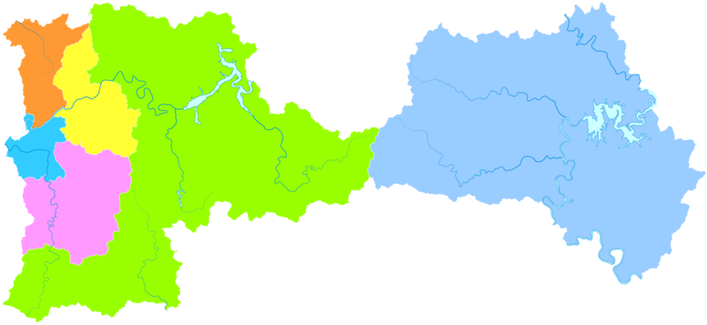 Benxi Wikipedia - Benxi map