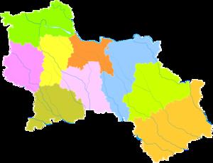 Shangqiu - Image: Administrative Division Shangqiu