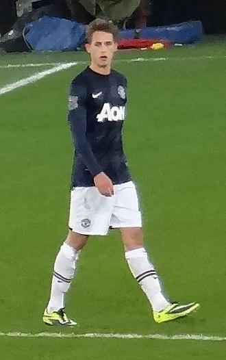Adnan Januzaj - Januzaj playing for Manchester United in 2013