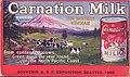 Advertisement for Carnation Milk, Alaska-Yukon-Pacific Exposition, 1909 (AYP 333).jpg