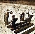 African-American workers laying railroad ties, 1942 (26681492754).jpg