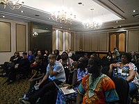 African Meetup at Wikimania 2018.jpg