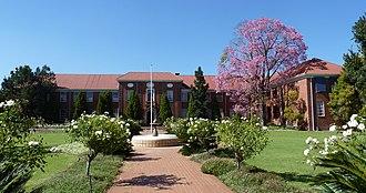 Afrikaanse Hoër Meisieskool - Main building