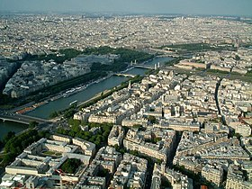 Aftnn The Seine from the Eiffel Tower.jpg