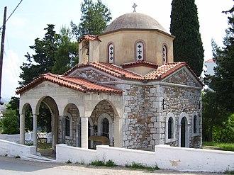 Livadeia - Image: Agios meletios church