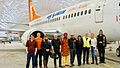 Air North, Yukon's Airline management and its creative crew with Gurdeep Pandher.jpg