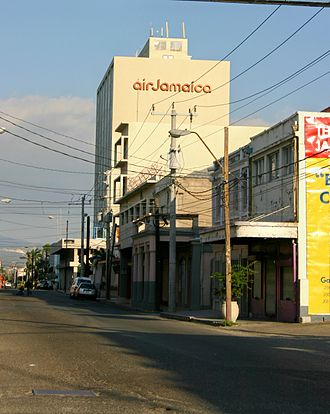Kingston, Jamaica - Air Jamaica headquarters