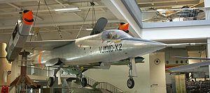 EWR VJ 101 - The X-2 prototype, displayed in the  Deutsches Museum, 2006