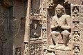 Ajanta Caves, India, Buddha image carving.jpg