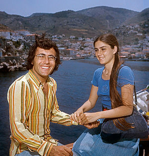 Romina Power - Al Bano and Romina Power in Greece in 1975