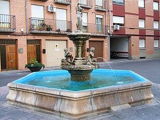 Alagón, Zaragoza - Image: Alagon fuente