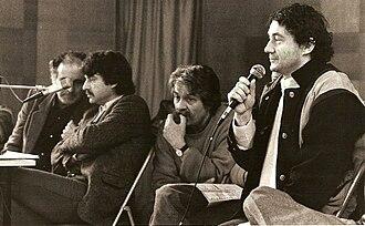 Printemps de Bourges - Image: Alain Meilland conférence presse printemps de bourges 1984