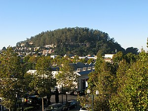 Albany Hill - Image: Albany Hill