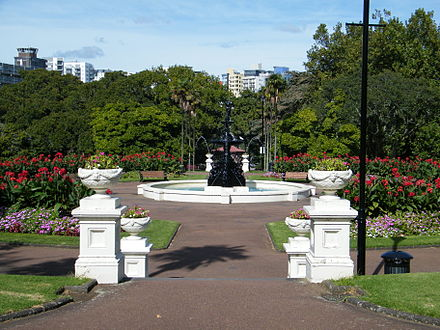 Albert Park in central Auckland Albert Park, Auckland, NZ.jpg