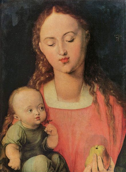 Maria mit Kind von Albrecht Dürer (1526)