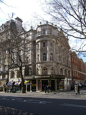 Aldwych farce - The Aldwych Theatre today