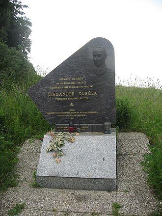 Alexander Dubček - Monument to Alexander Dubček