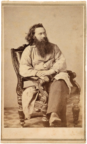 Alexander Gardner (photographer) - Alexander Gardner photographed c 1863