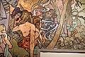 Alfons mucha, l'epoca romana e l'arrivo degli slavi, dipinto per padiglione bosnia-h. all'esp. univ. di parigi del 1900, 10.jpg