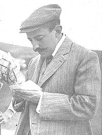 Alfonso XIII jugando al golf, de Campúa, Nuevo Mundo, 27-06-1907 (cropped). Francisco Barber.jpg