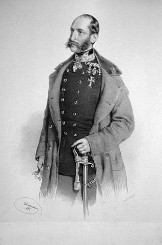 Alfred von Henikstein - Alfred Henikstein, 1852