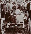 Algernon Lee Guinness, vainqueur sur Darracq de la côte de Gaillon 1906.jpg